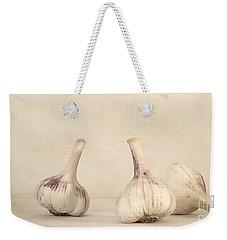 Fresh Garlic Weekender Tote Bag by Priska Wettstein