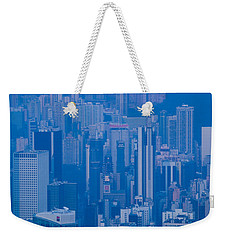 High Angle View Of Buildings Weekender Tote Bag by Panoramic Images