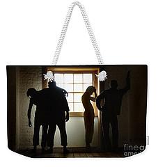 Hyde Park Prison Barracks Australia Weekender Tote Bag by Bob Christopher