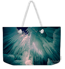 Ice Castle Weekender Tote Bag by Edward Fielding