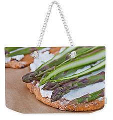 Making Pizza Weekender Tote Bag by Tom Gowanlock