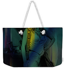 Raquel Welch Weekender Tote Bag by Marvin Blaine