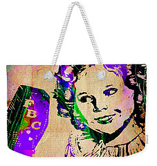 Shirley Temple Collection Weekender Tote Bag by Marvin Blaine