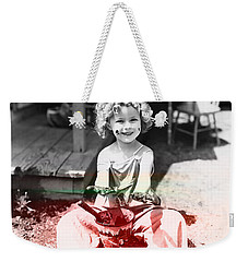 Shirley Temple Weekender Tote Bag by Marvin Blaine