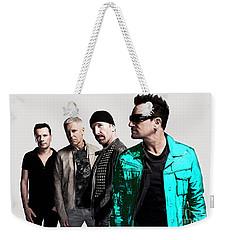 U2 Weekender Tote Bag by Marvin Blaine