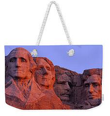 Usa, South Dakota, Mount Rushmore Weekender Tote Bag by Panoramic Images