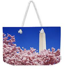 Washington Monument Washington Dc Weekender Tote Bag by Panoramic Images