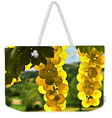 Yellow Grapes Weekender Tote Bag by Elena Elisseeva