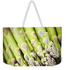 Asparagus Weekender Tote Bag by Elena Elisseeva