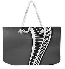 Cobra Emblem Weekender Tote Bag by Jill Reger