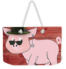 Cool Pig Collection Weekender Tote Bag by Marvin Blaine