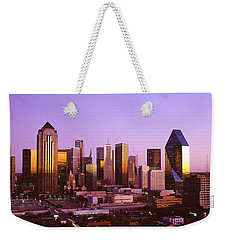 Dallas, Texas, Usa Weekender Tote Bag by Panoramic Images