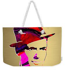 Frank Sinatra Gold Series Weekender Tote Bag by Marvin Blaine