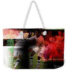 Landon Donovan Weekender Tote Bag by Marvin Blaine