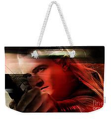 Orlando Bloom Weekender Tote Bag by Marvin Blaine