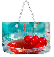 Shirley Temple Drink Weekender Tote Bag by Iris Richardson