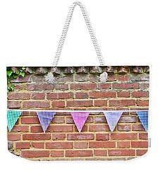 Bunting Weekender Tote Bag by Tom Gowanlock