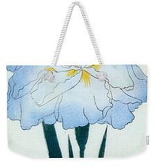 Japanese Flower  Weekender Tote Bag by Japanese School