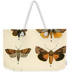 Butterflies Weekender Tote Bag by English School