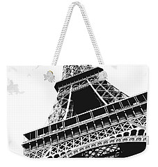 Eiffel Tower Weekender Tote Bag by Elena Elisseeva