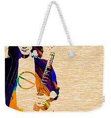 Eddie Van Halen Collection Weekender Tote Bag by Marvin Blaine
