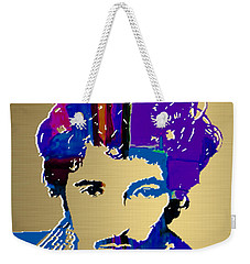 Bruce Springsteen Gold Series Weekender Tote Bag by Marvin Blaine