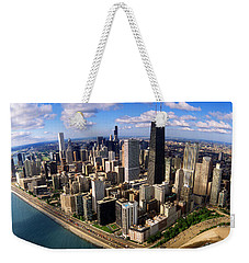 Chicago Il Weekender Tote Bag by Panoramic Images