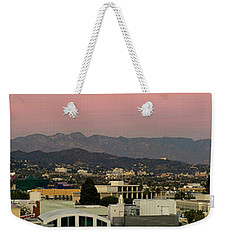 Elevated View Of Buildings In City Weekender Tote Bag by Panoramic Images