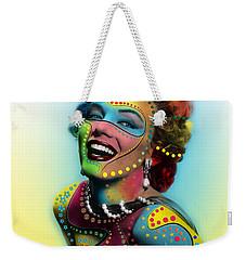 Marilyn Monroe Weekender Tote Bag by Mark Ashkenazi