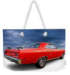 '70 Roadrunner Weekender Tote Bag by Douglas Pittman