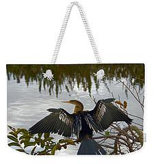 Anhinga Weekender Tote Bag by Mark Newman