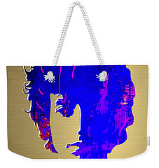Bob Dylan Gold Series Weekender Tote Bag by Marvin Blaine