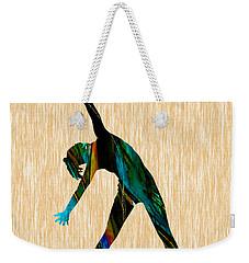 Fitness Weekender Tote Bag by Marvin Blaine