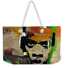 Jay Z Weekender Tote Bag by Marvin Blaine
