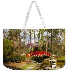 A Bridge To Spring Weekender Tote Bag by Benanne Stiens
