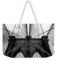 A Brooklyn Perspective Weekender Tote Bag by Az Jackson