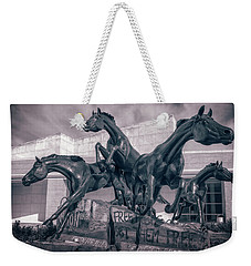A Monument To Freedom II Weekender Tote Bag by Joan Carroll