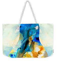 A Nice Pear - Abstract Art By Sharon Cummings Weekender Tote Bag by Sharon Cummings