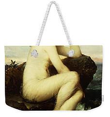 A Nymph By The Sea Weekender Tote Bag by Wilhelm Kray
