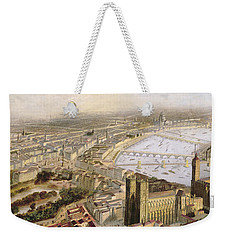 A Panoramic View Of London Weekender Tote Bag by English School