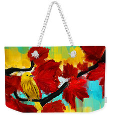 A Ponder Weekender Tote Bag by Lourry Legarde