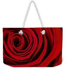 A Rose For Valentine's Day Weekender Tote Bag by Adam Romanowicz