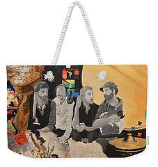 A Tribute Weekender Tote Bag by Leah Price