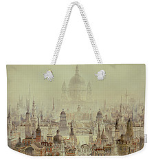 A Tribute To Sir Christopher Wren Weekender Tote Bag by Charles Robert Cockerell
