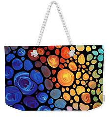 Abstract 1 - Colorful Mosaic Art - Sharon Cummings Weekender Tote Bag by Sharon Cummings