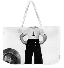Actress Shirley Temple Weekender Tote Bag by Underwood Archives