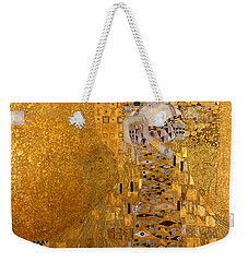 Adele Bloch Bauers Portrait Weekender Tote Bag by Gustive Klimt