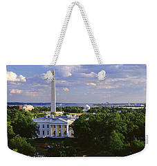 Aerial, White House, Washington Dc Weekender Tote Bag by Panoramic Images