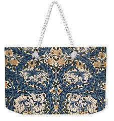 African Marigold Design Weekender Tote Bag by William Morris