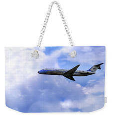 Air Force One - Mcdonnell Douglas - Dc-9 Weekender Tote Bag by Jason Politte